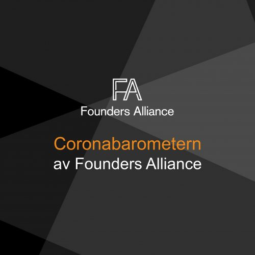 Coronabarometern av Founders Alliance